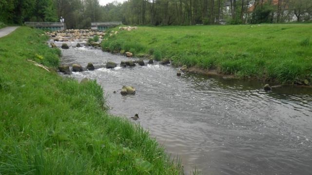 Bocholter Aa – Rückbau der Stauanlage Pröbsting zur rauen Rampe