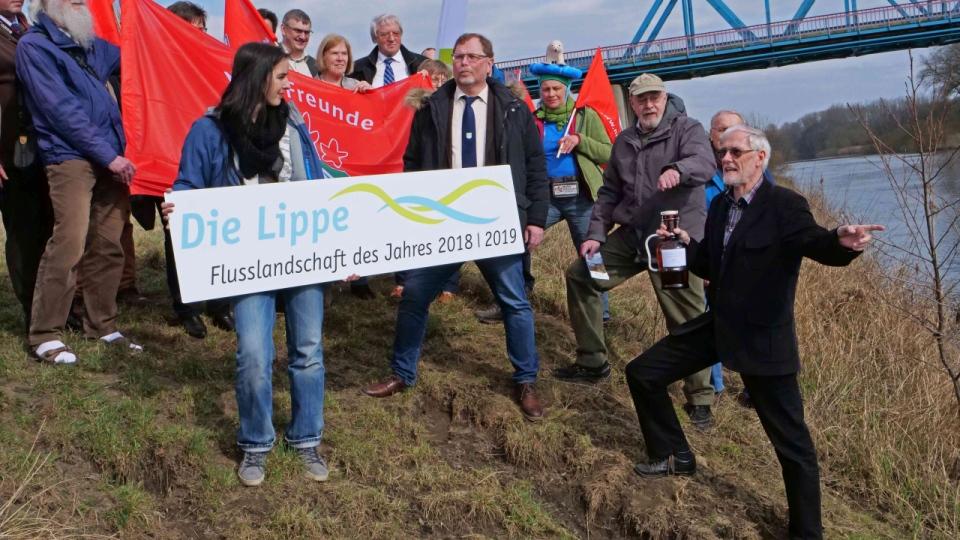 Die Lippe – Flusslandschaft des Jahres 2018/2019