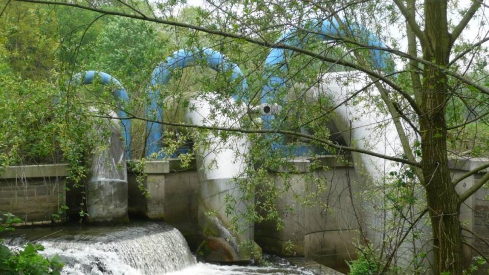 Pumpwerk am Hammbach