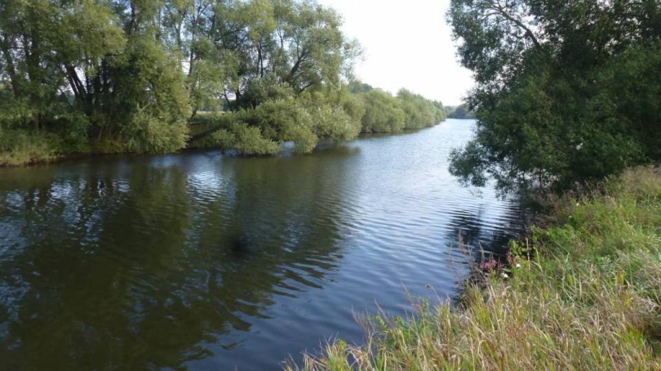 Die Ems bei Rheine