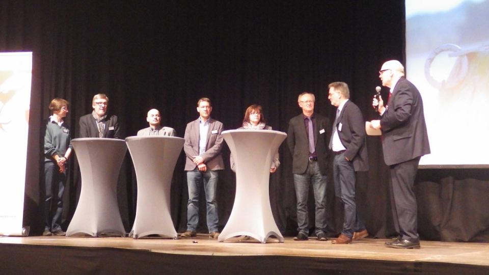 Podiumsdiskussion auf der Gewässerkonferenz in Schwerte
