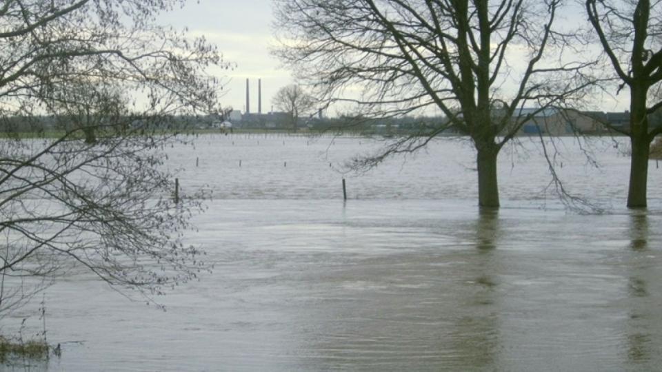 Hochwasser an der Rur – 2011 bei Wassenberg