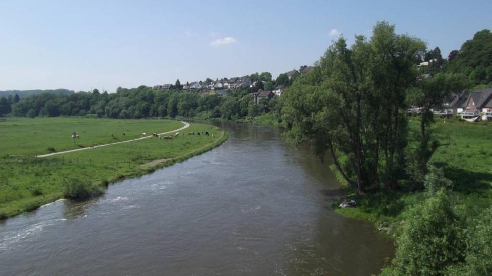 Die Ruhr bei Hattingen