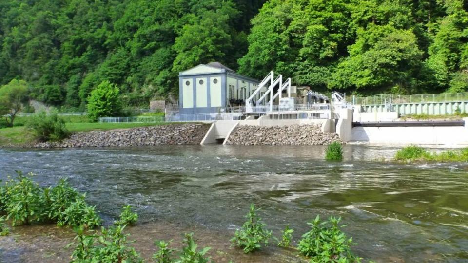 Das Wasserkraftwerk Unkelmühle in Eitorf