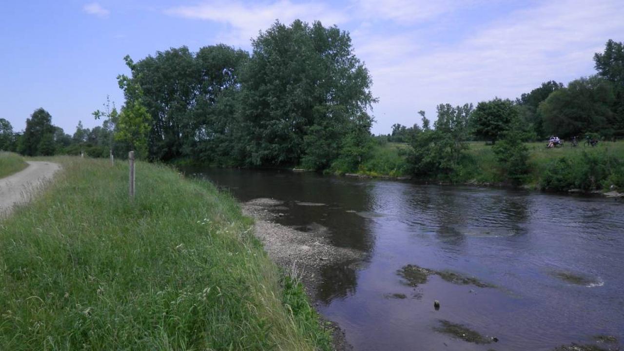 Die Rur bei Wassenberg
