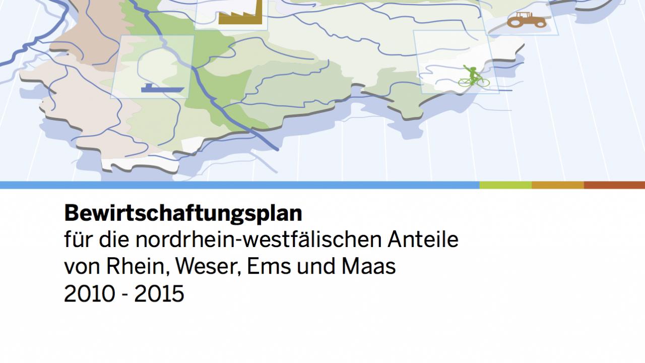 Bewirtschaftungsplan NRW 2015 Titel