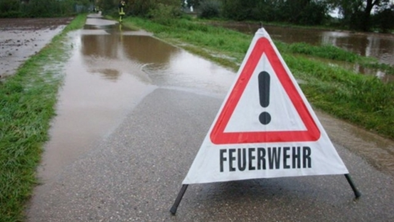 Hochwasser an der Erft – 2007 bei Weilerswist