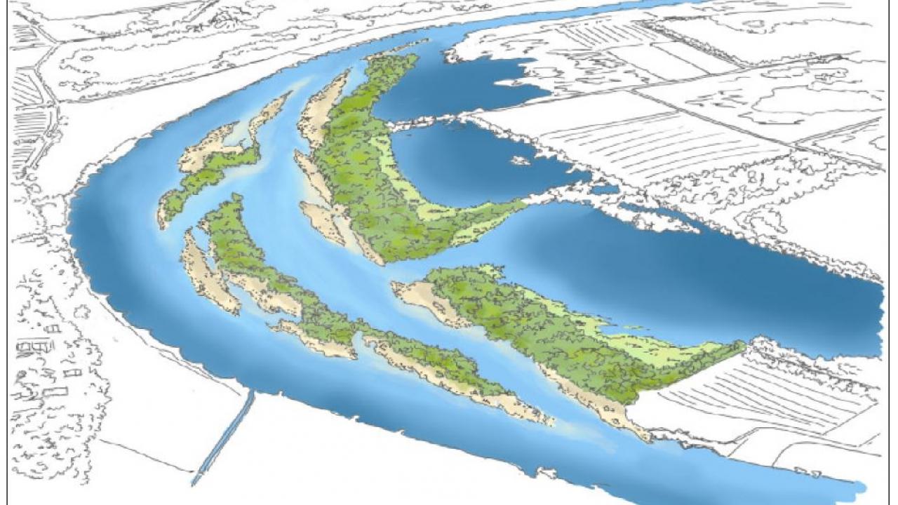 Machbarkeitsstudie Weserschleifen, Grafik: UIH Ingenieur- und Planungsbüro
