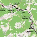 Übersicht über die sechs Abschnitte im Untersuchungsgebiet der Lenne.jpg