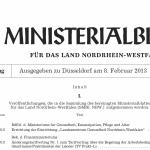 Titel Ministerialblatt
