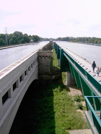 Der Mittellandkanal in Minden