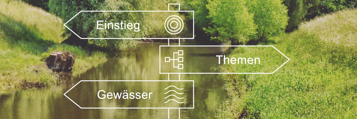Einstieg - Themen - Gewässer - Orientierung